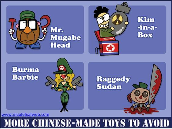 Chinese Made Toys