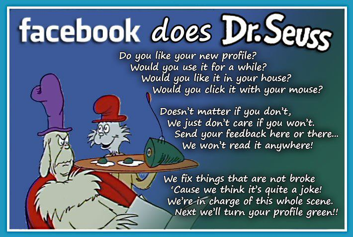 facebook does DrSeuss