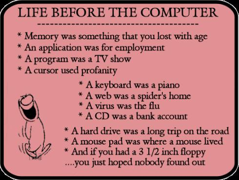 Life before Computer