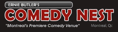 Ernie Butlers comedy nest logo