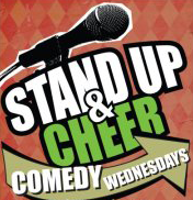 stand up and cheer wednesdays open mic night