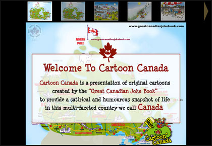 funny cartoons about canada