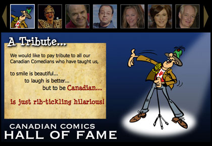 canadian comedy hall of fame