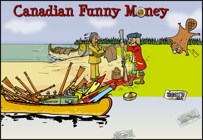 canada has some very funny money