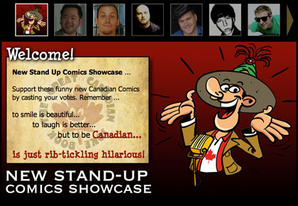 new canadian stand-up comics