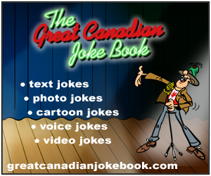 partner with The Great Canadian Joke Book today