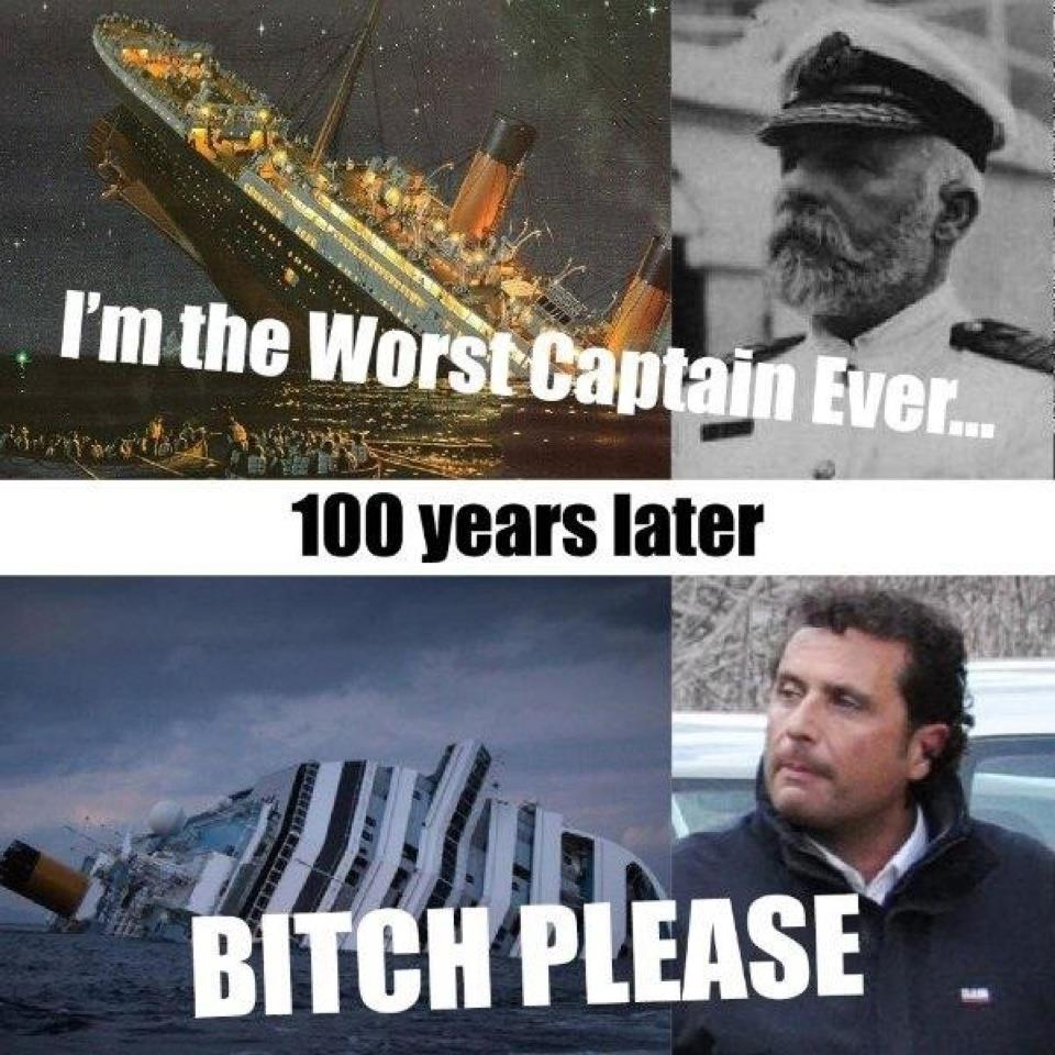 Worst Captain Ever