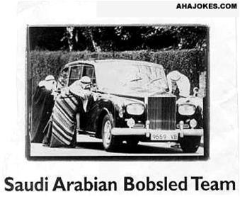 Arabian Bobsled Team