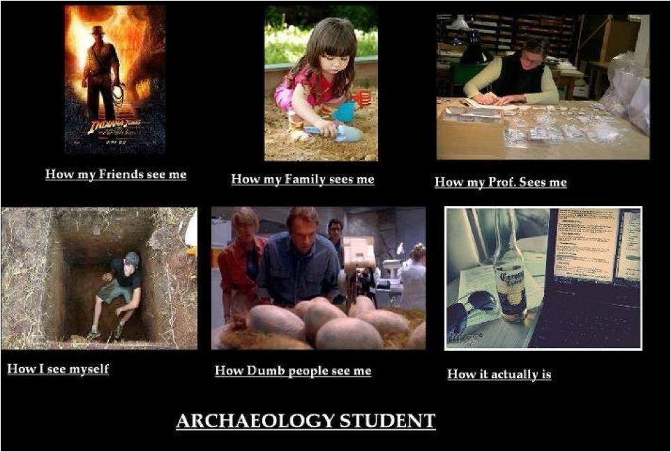 Archaeology Student