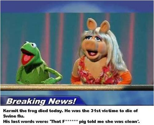 Kermit Died Today